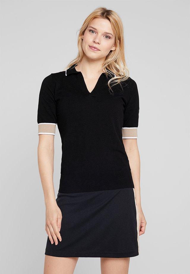 CALI - Polo shirt - black
