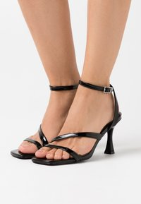 BEBO - BRYNA - High heeled sandals - black - 0