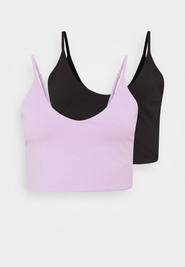 2 PACK - Toppi - black/lilac