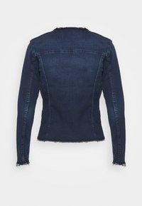 7 for all mankind - JACKET BAIR PARK AVENUE - Denim jacket - dark blue - 6