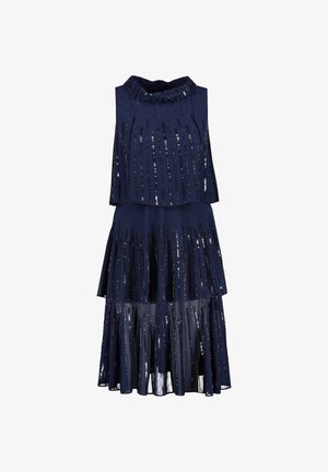 MARC CAIN DAMEN ABENDKLEID - Cocktail dress / Party dress - marine (52)