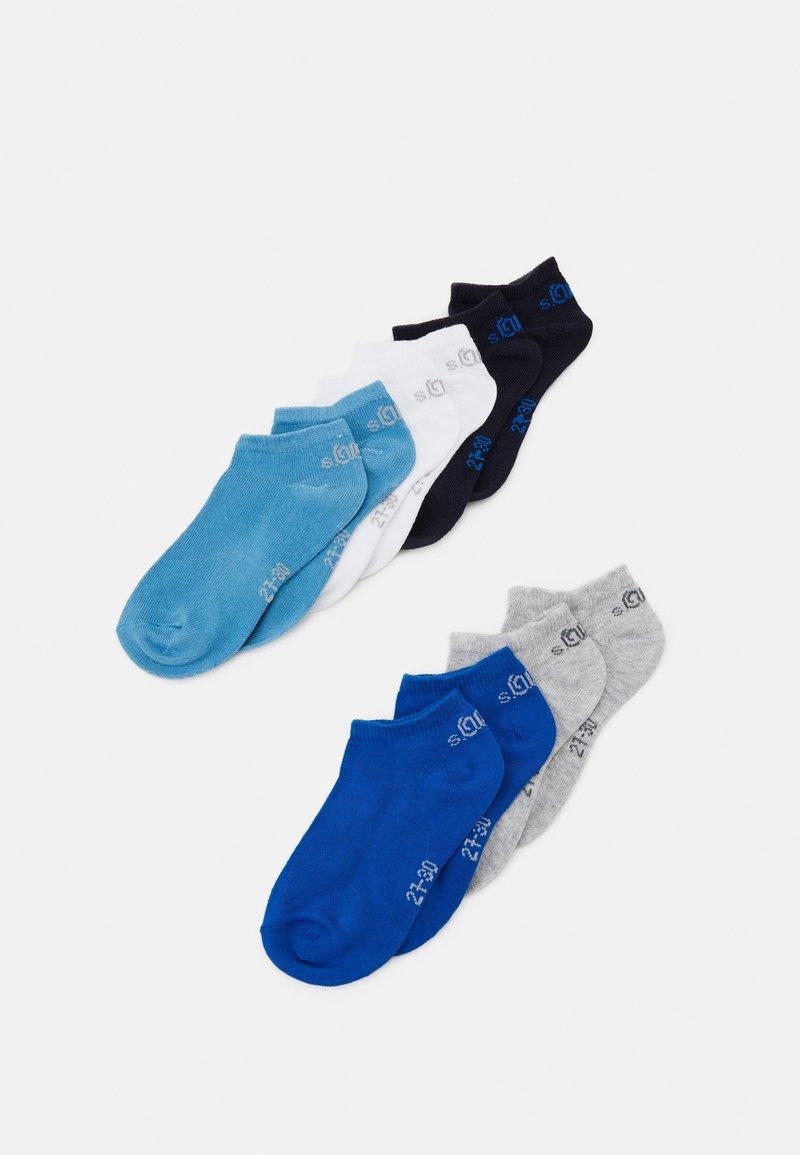 s.Oliver - ONLINE JUNIOR ESSENTIAL SNEAKER 10 PACK - Sokken - olympian blue