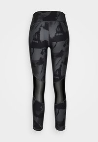 Under Armour - ROCK ANKLE LEGGING - Leggings - pitch gray