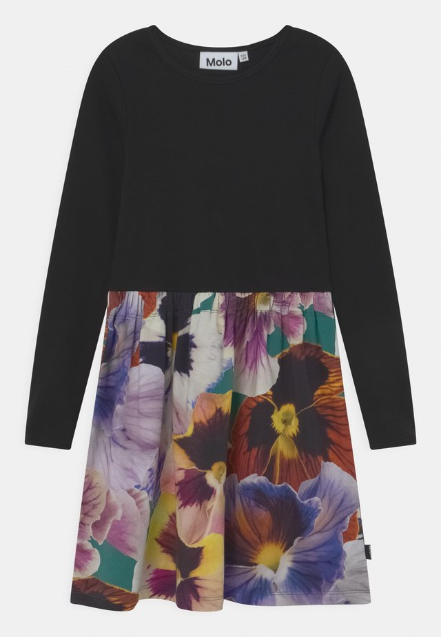 CREDENCE - Jersey dress - black