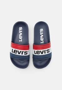 Levi's® - POOL UNISEX - Mules - navy/red - 3