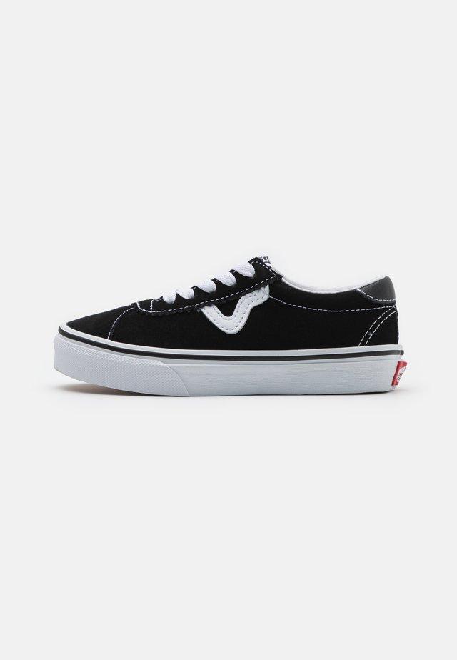 SPORT UNISEX - Sneakers laag - black/true white