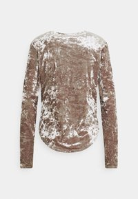 Free People - PERFECT DATE - Long sleeved top - taupe stone - 1