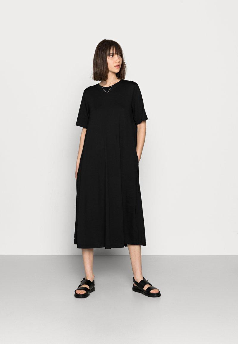 ARKET - Jerseyklänning - black