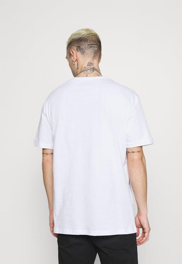 Zign UNISEX - T-shirt z nadrukiem - white/biały Odzież Męska JAMW