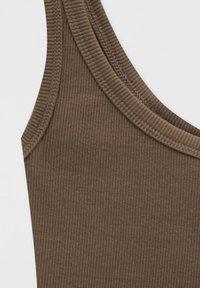 PULL&BEAR - Top - mottled light brown - 5