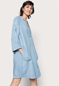 Part Two - INGELINE - Denimové šaty - light blue denim - 3