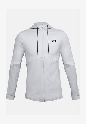 DOUBLE KNIT  - Zip-up hoodie - halo gray