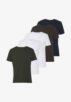 5 PACK  - T-shirt basic - grey