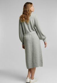Esprit - LONG DRESS - Maxi dress - medium grey - 2