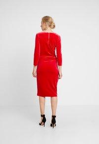 InWear - NISAS DRESS - Vestido de cóctel - real red - 3