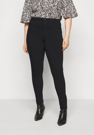 PCHIGHSKIN WEAR - Jeans Skinny Fit - black