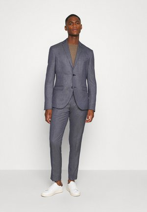 TEXTURE SUIT - Puku - blue