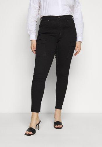 LEXY PLUS - Jeans Skinny Fit - black