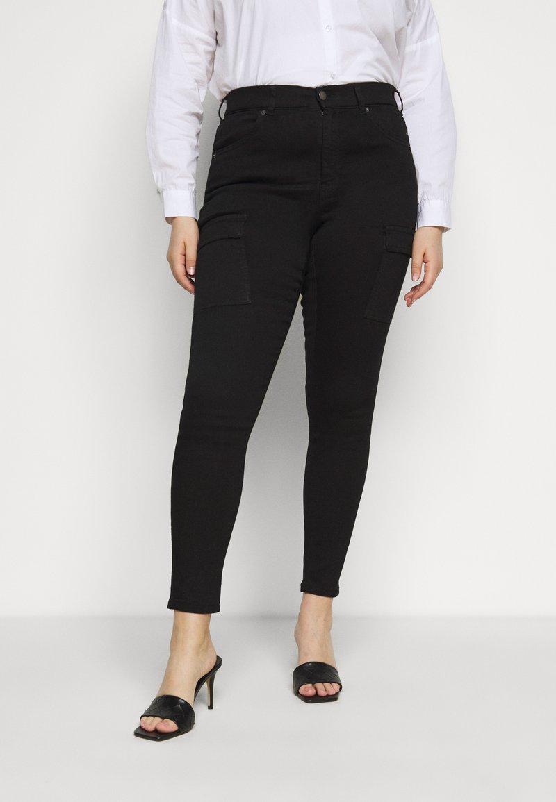 Dr.Denim Plus - LEXY PLUS - Jeans Skinny Fit - black
