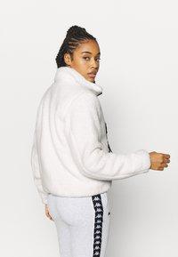 Kappa - VALANA - Fleece jacket - snow white - 2