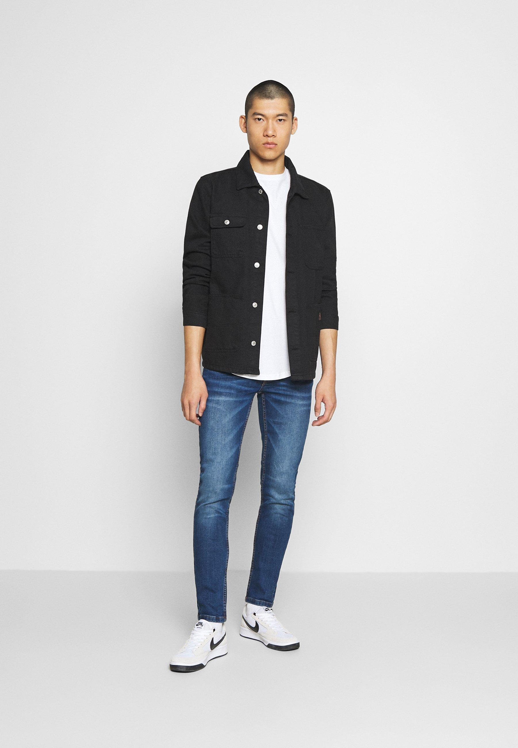 Redefined Rebel Stockholm - Jeans Slim Fit Jet Blue/blå Denim