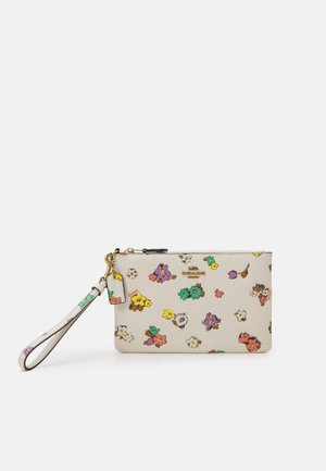 FLORAL PRINTED SMALL WRISTLET - Clutch - chalk