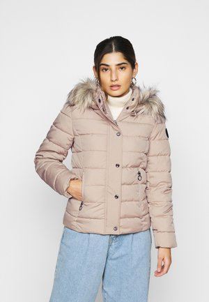 ONLLUNA QUILTED JACKET  - Winter jacket - humus/melange