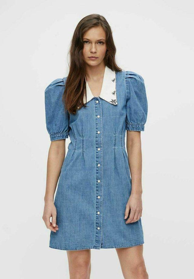 Vestito di jeans - medium blue denim