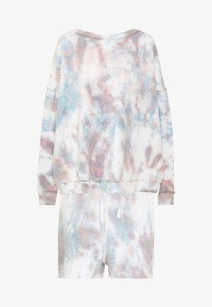 KELLY WASHED SET - Sweatshirt - white