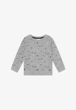 RAMSEY  - Sweater - mottled light grey/dark blue