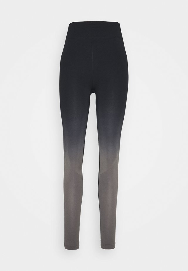 Collants - black/grey