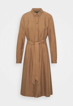 DRESS SHORT - Skjortekjole - noisette