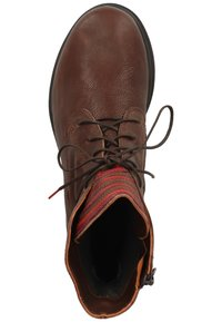 Think! - Lace-up ankle boots - mocca/kombi 3000 - 1