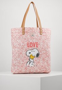 Cath Kidston - SNOOPY SIMPLE SHOPPER - Shopping Bag - washed pink - 0