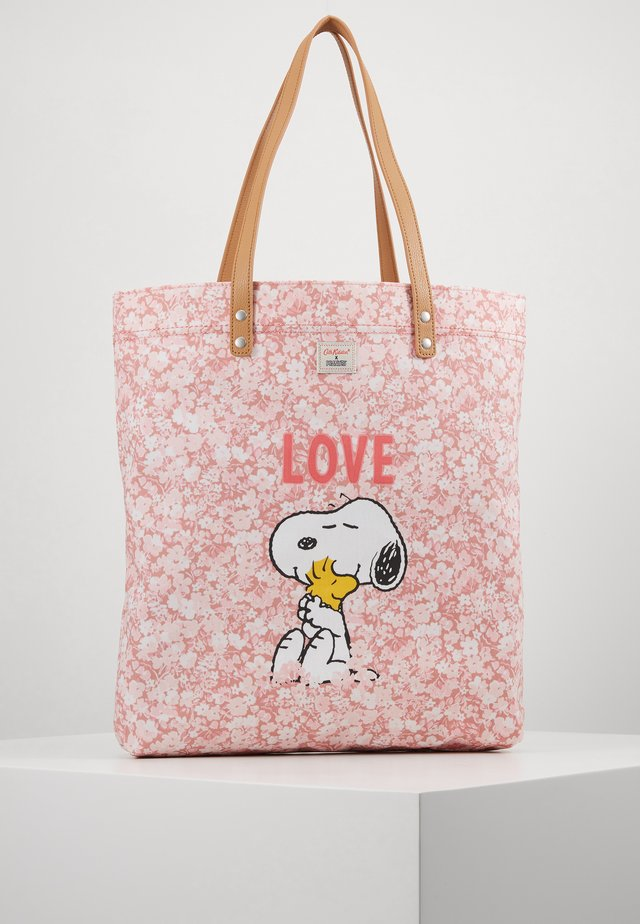 SNOOPY SIMPLE SHOPPER - Tote bag - washed pink