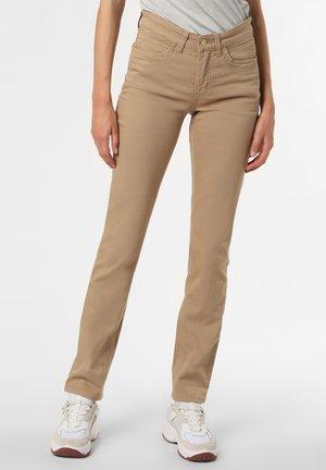 ANGELA - Straight leg jeans - beige