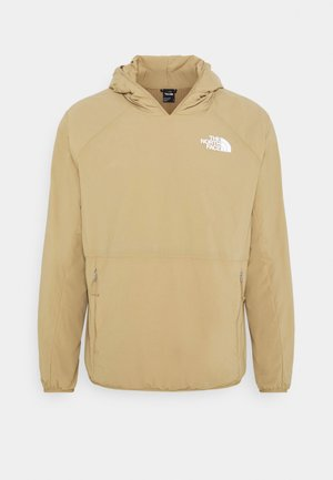 ACTIVE TRAIL - Sweat à capuche - moab khaki