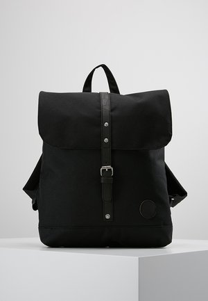 BACKPACK MINI - Reppu - black recycled