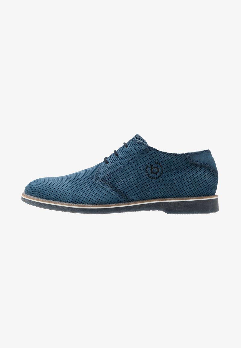 Bugatti - MELCHIORE - Volnočasové šněrovací boty - blue