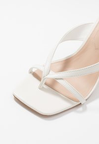 ALDO - LEXIE - High heeled sandals - white - 2