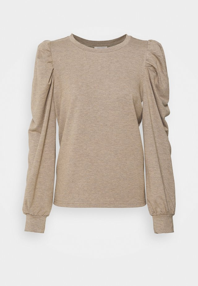 Sweatshirt - champagne melange