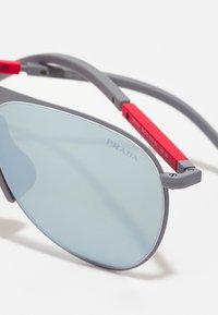Prada Linea Rossa - Sunglasses - gunmetal - 3