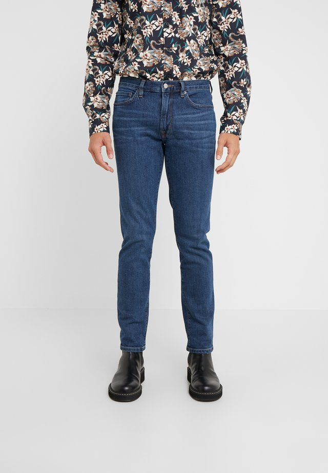 AMBASSADOR - Vaqueros slim fit - faded indigo