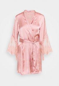 Hunkemöller - KIMONO - Dressing gown - rose tan - 5