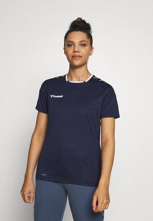 HMLAUTHENTIC  - T-Shirt print - marine