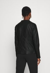 Soyaconcept - SC-AMALIE 4 - Faux leather jacket - black - 2