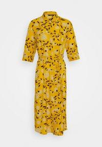 ONLY - ONLNOVA LUX DRESS - Day dress - golden yellow/white - 4