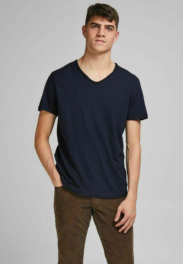 T-shirt basic - peacoat