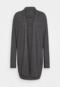 Repeat - CARDIGAN - Cardigan - med grey - 0