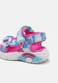 Skechers - RAINBOW RACER - Sandals - pink/light blue - 6